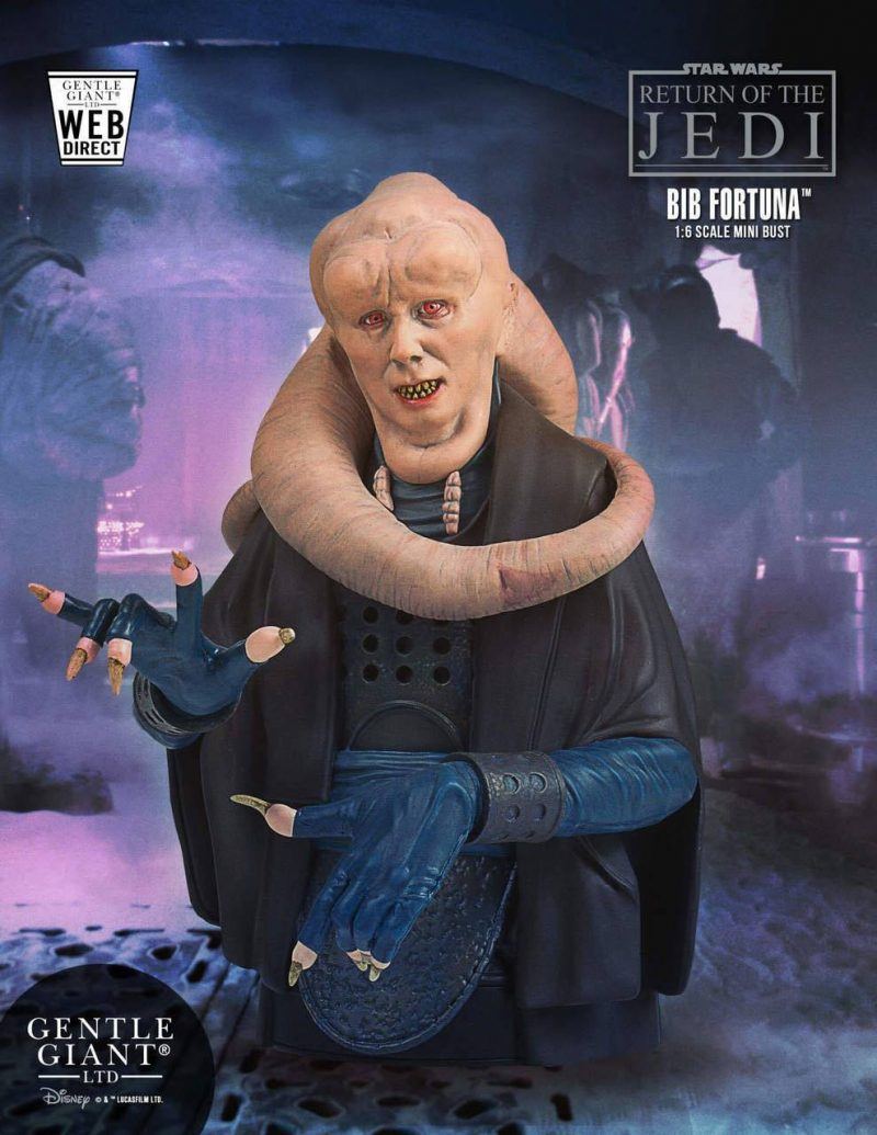 Star Wars Episode VI Büste 1/6 Bib Fortuna 18 cm