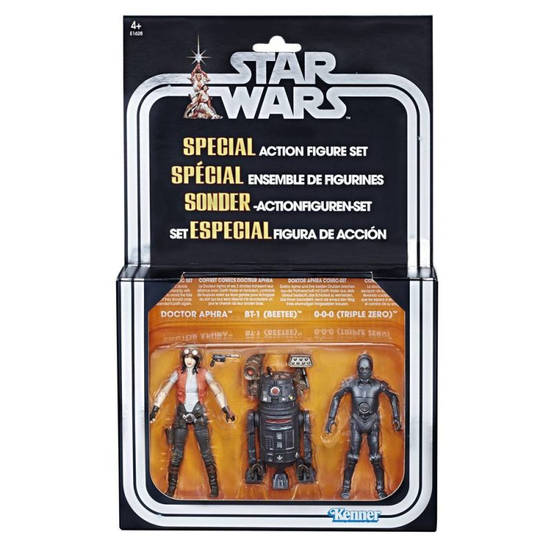 Star Wars Premium Vintage Collection Actionfiguren 3er-Pack Doctor Aphra Comic Set Exclusive 10 cm