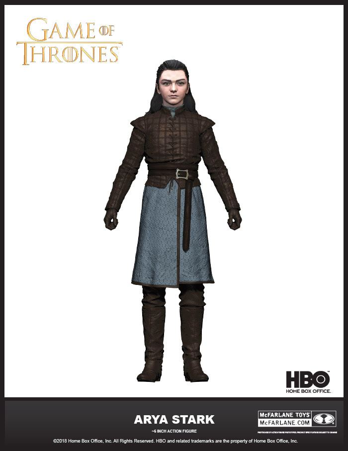 Game of Thrones Actionfigur Arya Stark 15 cm