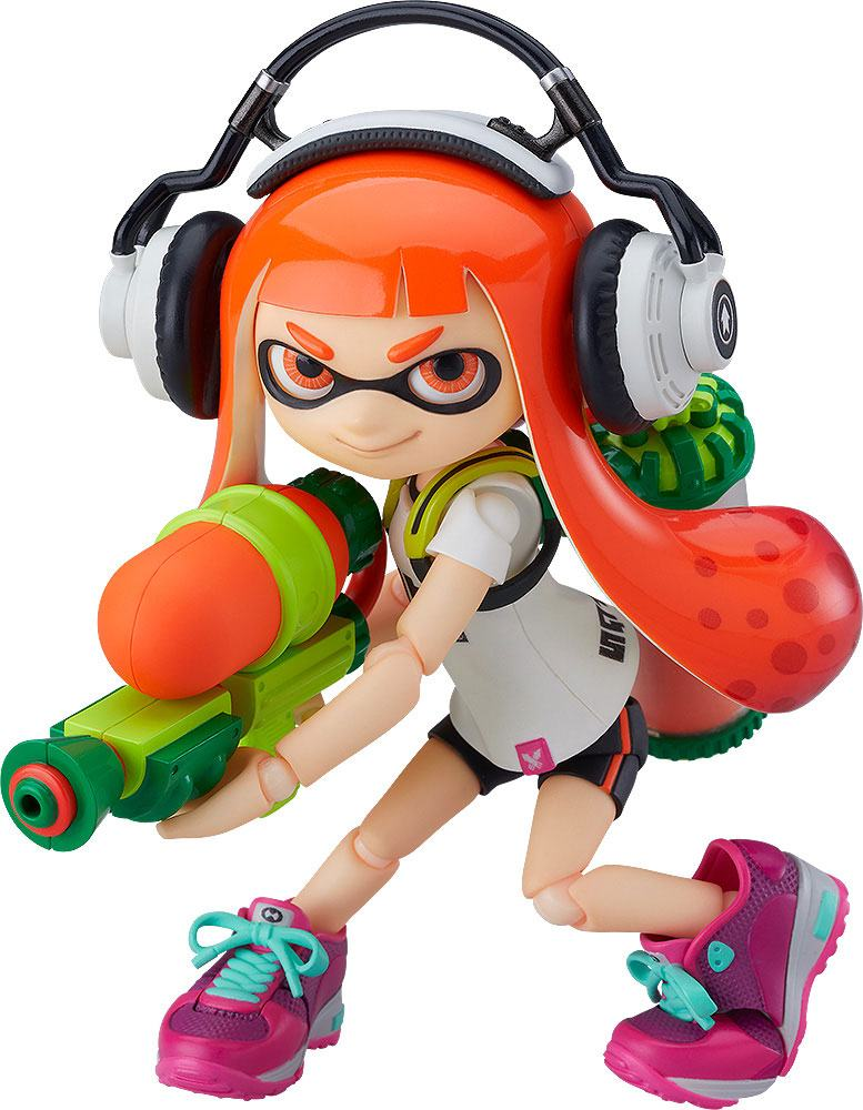Splatoon Figma Actionfigur Splatoon Girl 10 cm