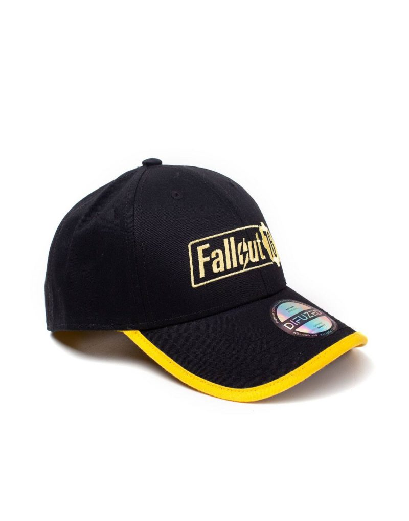 more photos 233be f0ec1 ... Fallout 76 Baseball Cap Yellow Logo ...