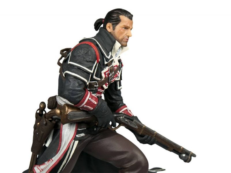 Assassin S Creed Rogue Patung Pvc Renegade Shay 24 Cm Kecepatan