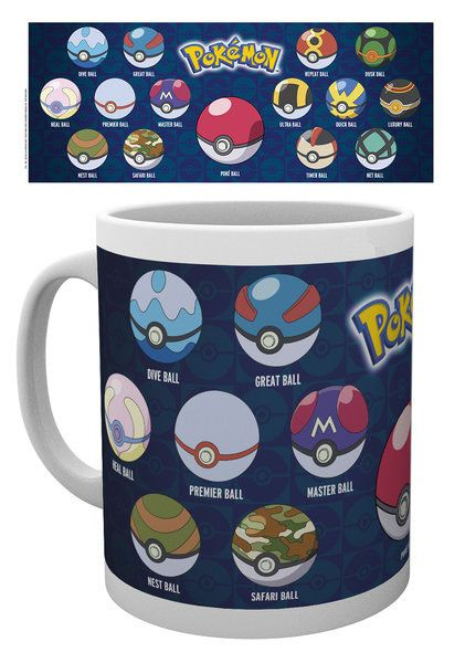 Pokemon Tasse Ball Varieties