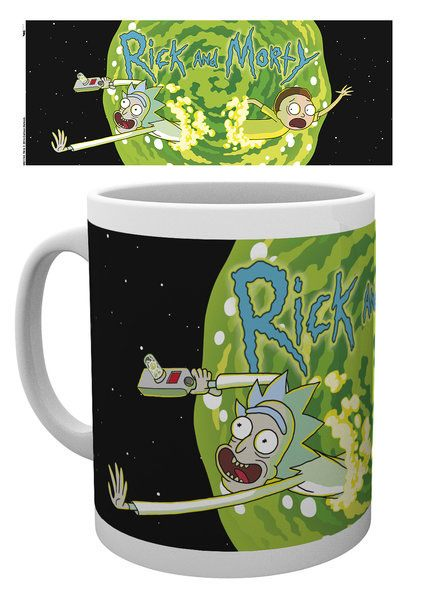 Rick and Morty Tasse Logo
