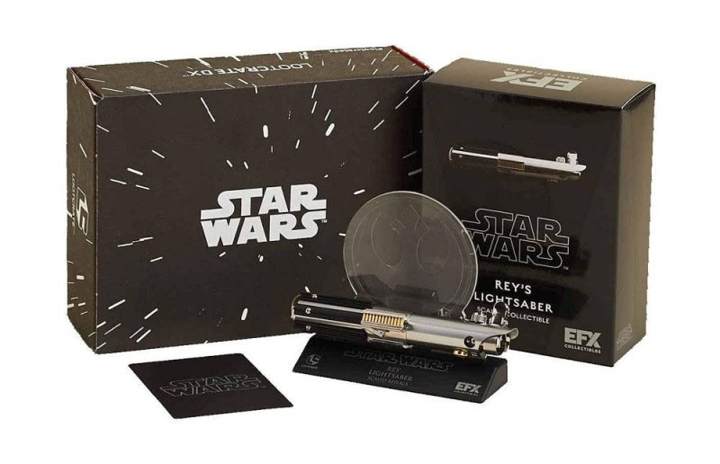 Star Wars Replik Reys Lichtschwert LC Exclusive 13 cm