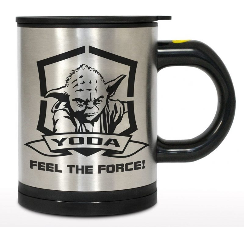 Star Wars Self-stirring Travel Mug Yoda - herocity 0dd516f89533b