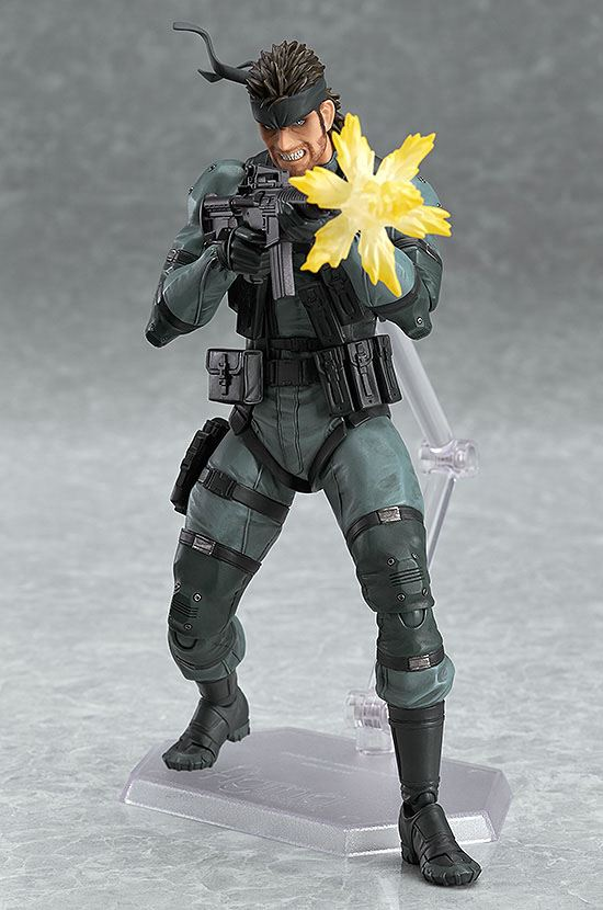 figma Metal Gear Solid 2 Solid Snake MGS2 ver Sons of Liberty Action Figure
