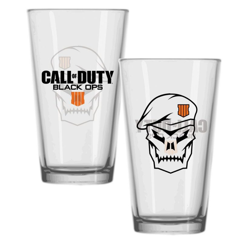 Call of Duty Black Ops 4 Glas Skull