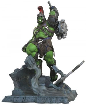Thor Day of Decision Marvel Movie Milestones Estàtua Gladiator Hulk 61 cm