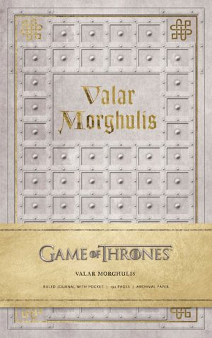 Game of Thrones Notizbuch Valar Morghulis