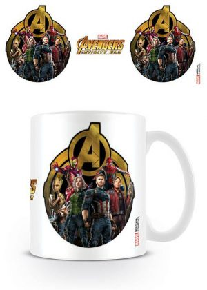 Avengers Infinity War Tasse Icon Of Heroes