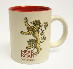 Game of Thrones Tasse Lannister weiß