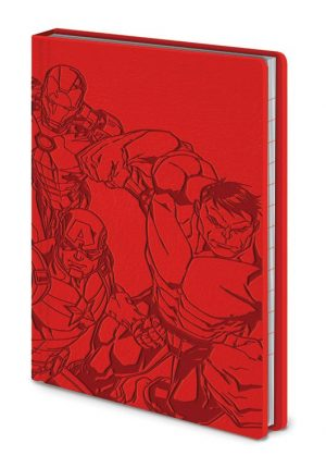 Marvel Premium Notebook A6 The Avengers