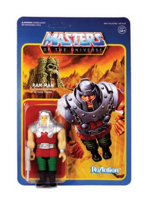 Masters of the Universe ReAction Actionfigur Wave 4 Ram Man 10 cm