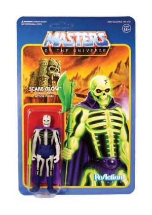 Masters of the Universe ReAction Actionfigur Wave 4 Scare Glow 10 cm