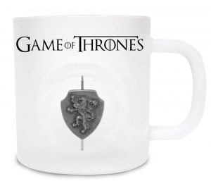 Game of Thrones Tasse 3D Rotating Logo Lannister