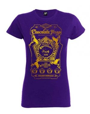 Harry Potter Girlie T-Shirt Chocolate Frogs