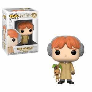 Harry Potter POP! Pel·lícules Vinyl Figure Ron Weasley (Herbologia) 9 cm