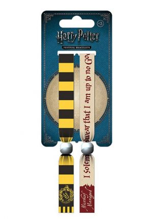 Pulsera de Festival Harry Potter Doble Pack Hufflepuff