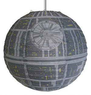 Star Wars žarnice iz papirja Death Star 30 cm