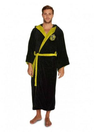 Harry Potter Fleece Robe Hufflepuff