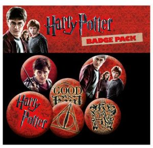 Botons de Harry Potter 6er Pack icones