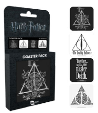 Harry Potter Untersetzer 4er Pack Deathly