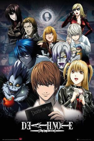 Death Note Poster Set Collage 61 x 91 cm (5)