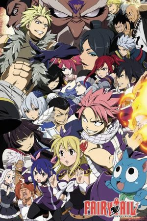 Fairy Tail Poster Set Season 6 Key Art 61 x 91 cm (5)