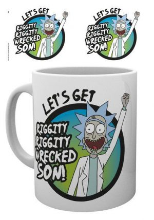 Rick and Morty Tasse Wrecked