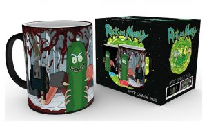 Rick and Morty Tasse mit Thermoeffekt Pickle Rick
