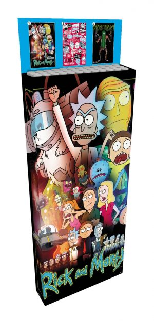 Rick and Morty Poster 61 x 91 cm Display (35)