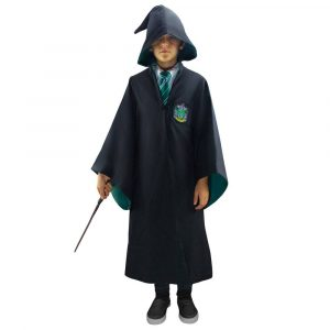 Harry Potter Wizarding Infantil Robe Slytherin