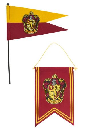 Harry Potter Wall Hanging & Flags Set Gryffindor