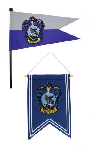 Harry Potter Wandbehang & Fähnchen Set Ravenclaw