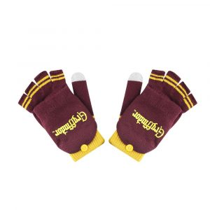 Guants de Harry Potter (Fingerless) Gryffindor