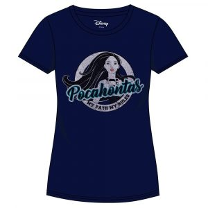 Pocahontas Girlie T-Shirt Disc