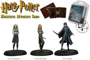 Miniatures de Harry Potter 35 mm 3er Pack Dumbledore's Army * Versió en anglès *