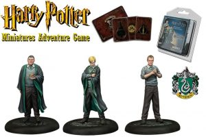 Miniatures de Harry Potter 35 mm Pack 3er Slytherin Student * Versió en anglès *