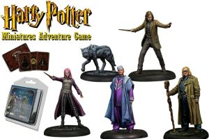 Miniatures de Harry Potter 35 mm 5er Pack Ordre del Phoenix * Versió en anglès *