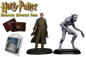 Miniatures Harry Potter 35 mm Pack doble Remus Lupine * Versió en anglès *