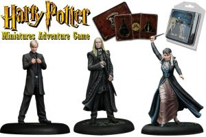 Miniatures de Harry Potter 35 mm 3er Family Pack Malfoy * Versió en anglès *