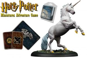 Harry Potter Miniatura 35 mm Paquet d'aventura Unicorn * Versió en anglès *