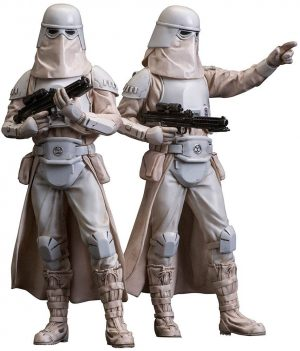 Star Wars ARTFX + Statue Twin Pack Snowtrooper 18 cm