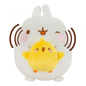 Molang Talk and Sing Plüschfigur mit Soundfunktion Molang & Piu Piu 25 cm