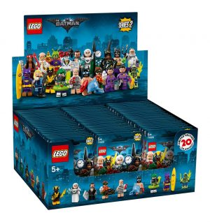 La sèrie LEGO® Batman Movie Minifigures 2 Display (60)