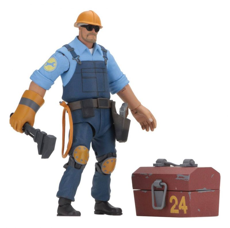 Team Fortress Actionfiguren 18 cm Serie 3.5 BLU Sortiment (8)