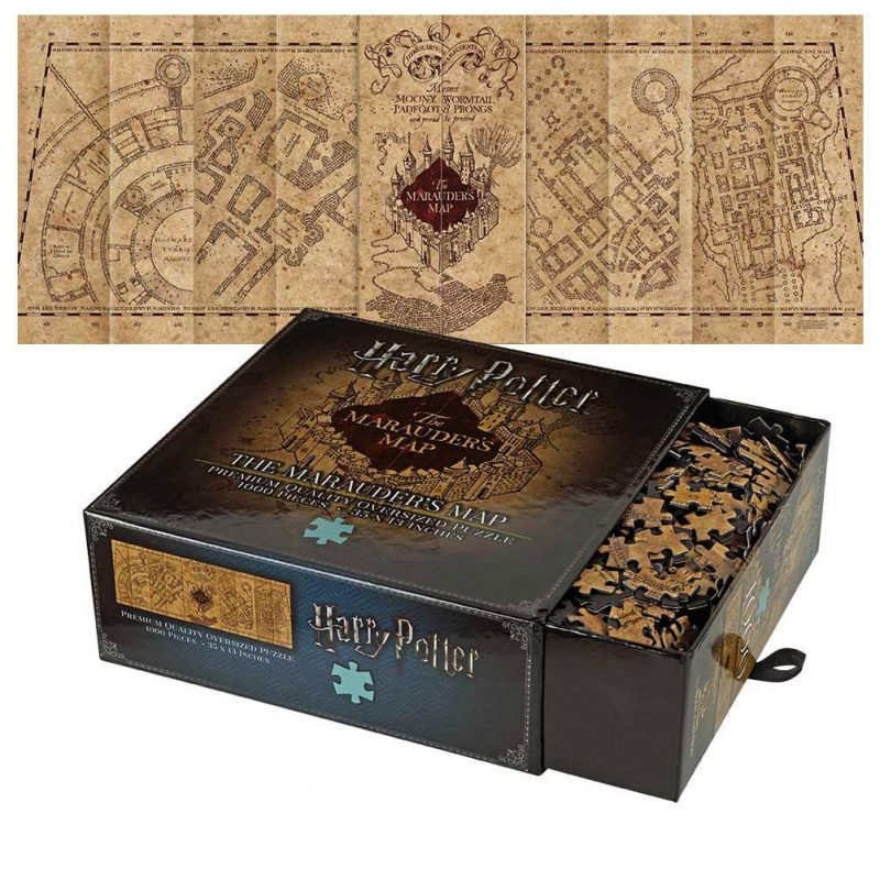 Harry Potter Puzzle The Marauder\'s Map Cover - herocity
