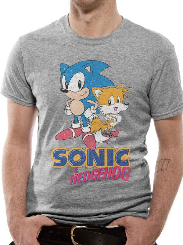 Sonic The Hedgehog T Shirt Sonic Tails Herocity