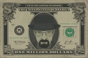 Breaking Bad Poster Set Heisenberg Dollar 61 x 91 cm (5)